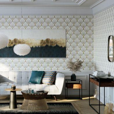 Décoration d'intérieur South Scandinavian d'inspiration scandinave et art déco