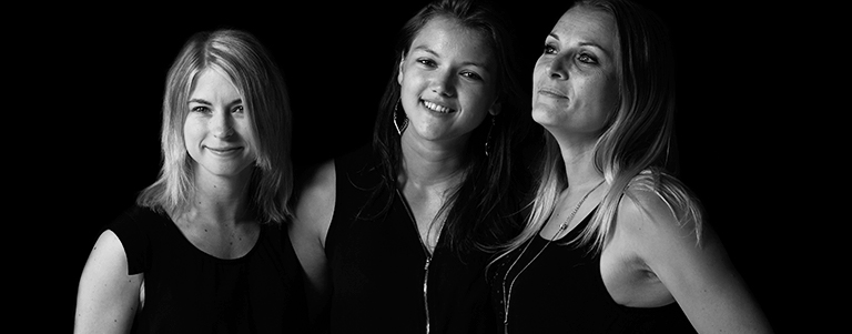 Mélanie, Jennifer & Nadège