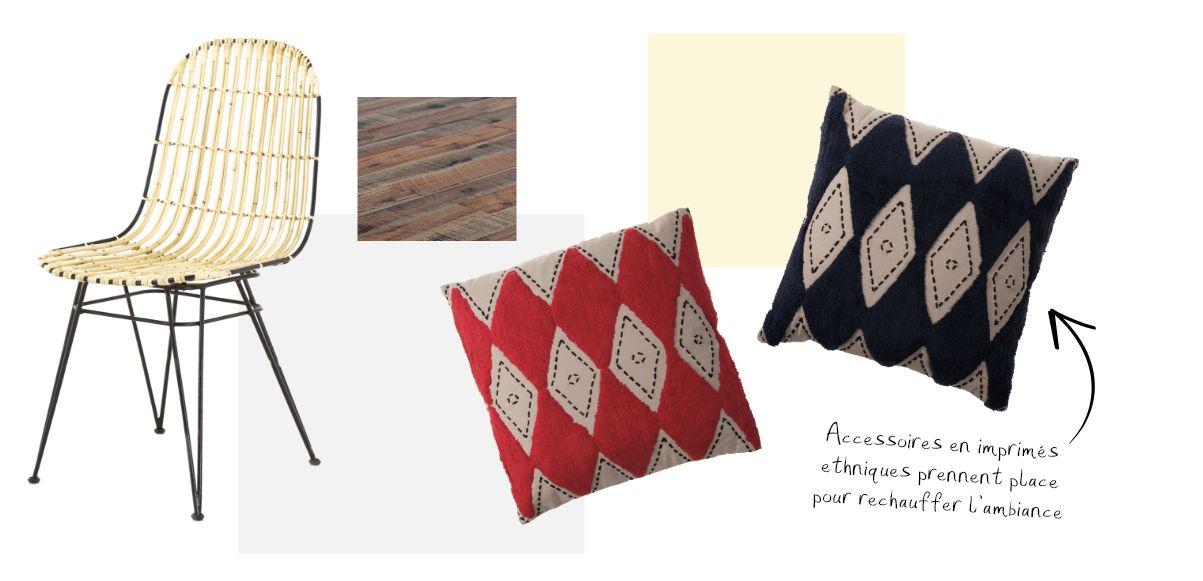 Un mobilier en bois recyclé de style kinfolk